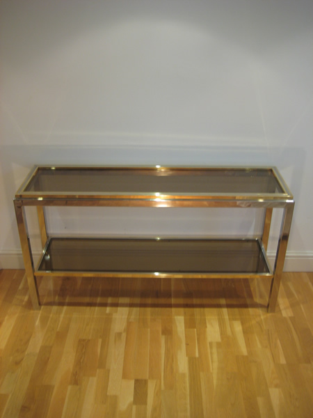 Willy rizzo console table for Table willy rizzo