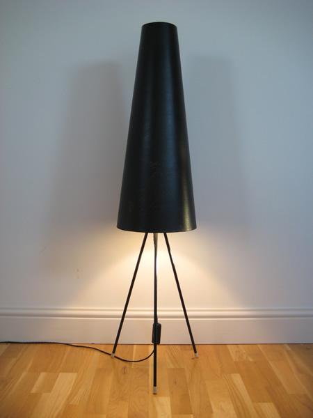 1950s 60s Tripod Lamp